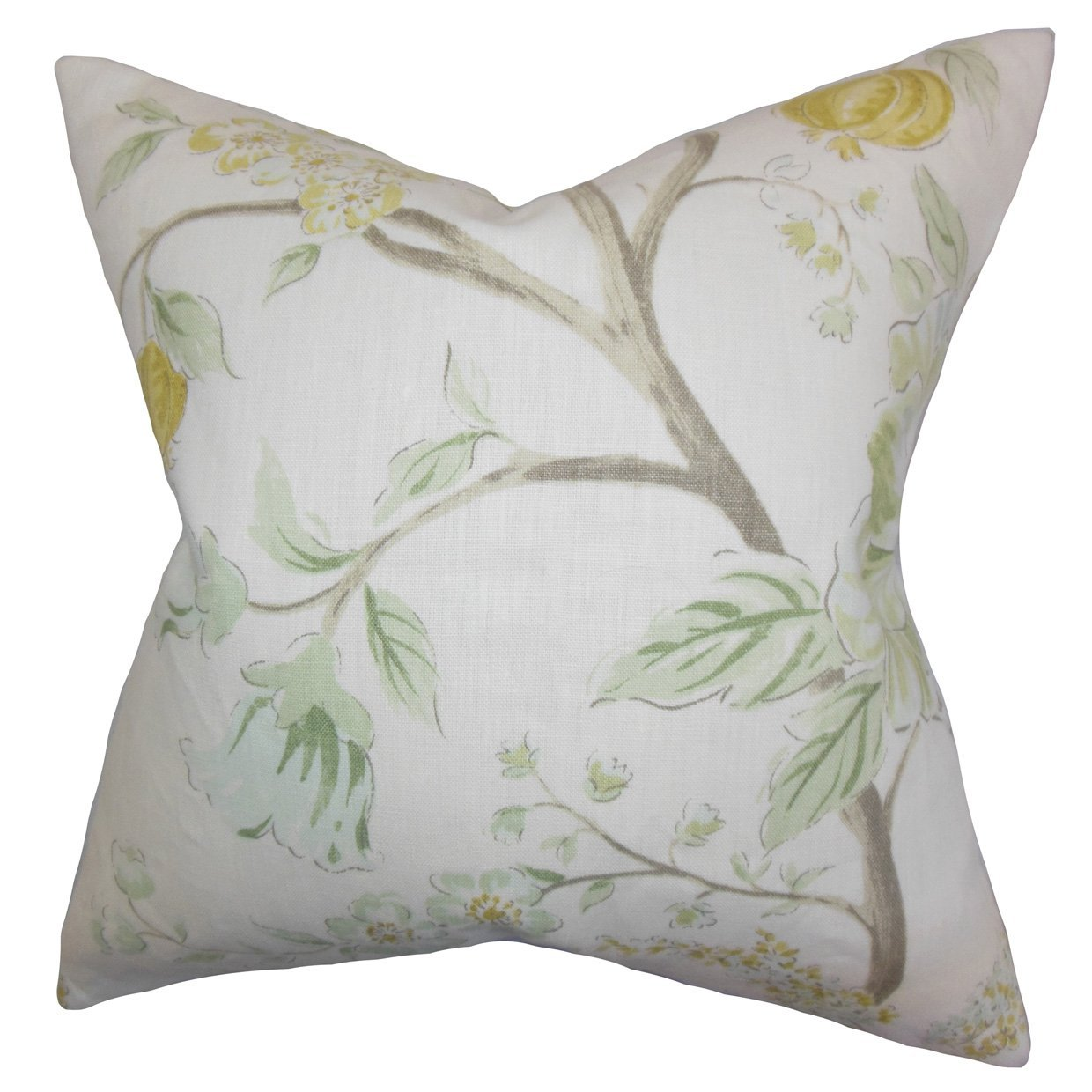 The Pillow Collection Ivria Floral Bedding Sham Meadow Standard//20 x 26
