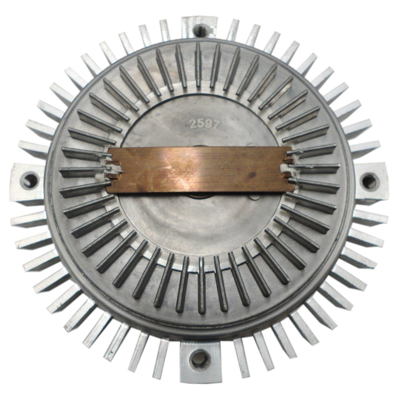 TOPAZ 2597 Engine Cooling Thermal Fan Clutch for Audi A4 A6 S4 Allroad Quattro Volkswagen Passat 2.7L 2.8L V6
