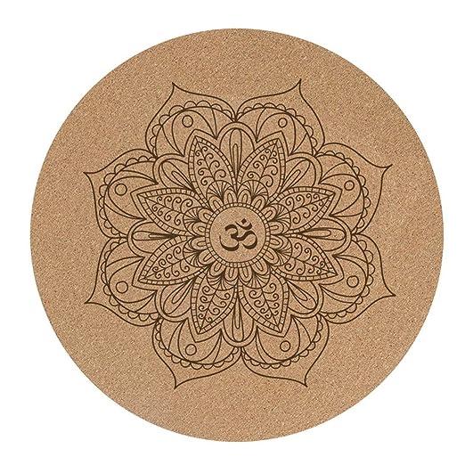 Limeinimukete Alfombrilla Antideslizante Indio Mandala Yoga ...