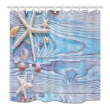 Nyngei Nautisches Sommer Meer Dusche Vorhange Fur Badezimmer