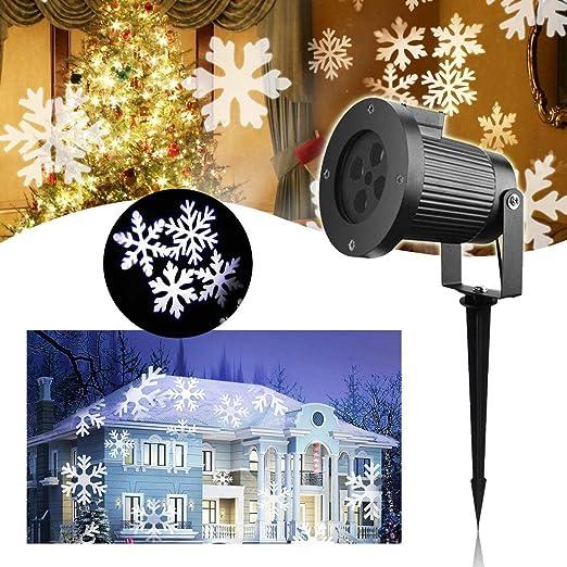 LED Proyector Luces de Navidad - VIDEN Lámpara de Proyector con ...