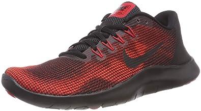 2df0dde39e38f Nike Men s Flex 2018 Rn Low-Top Sneakers  Amazon.co.uk  Shoes   Bags