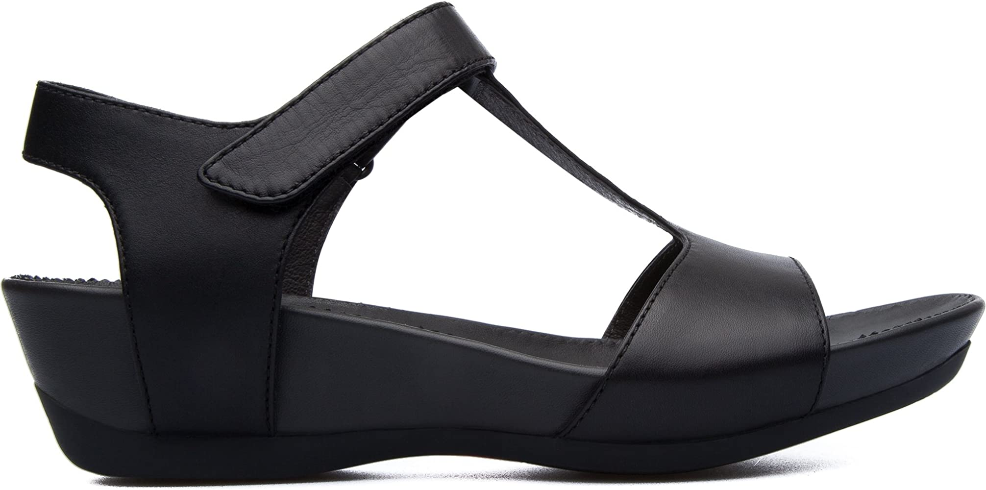 Camper Supersoft Micro Sandalias Mujer, Color Negro Mujer