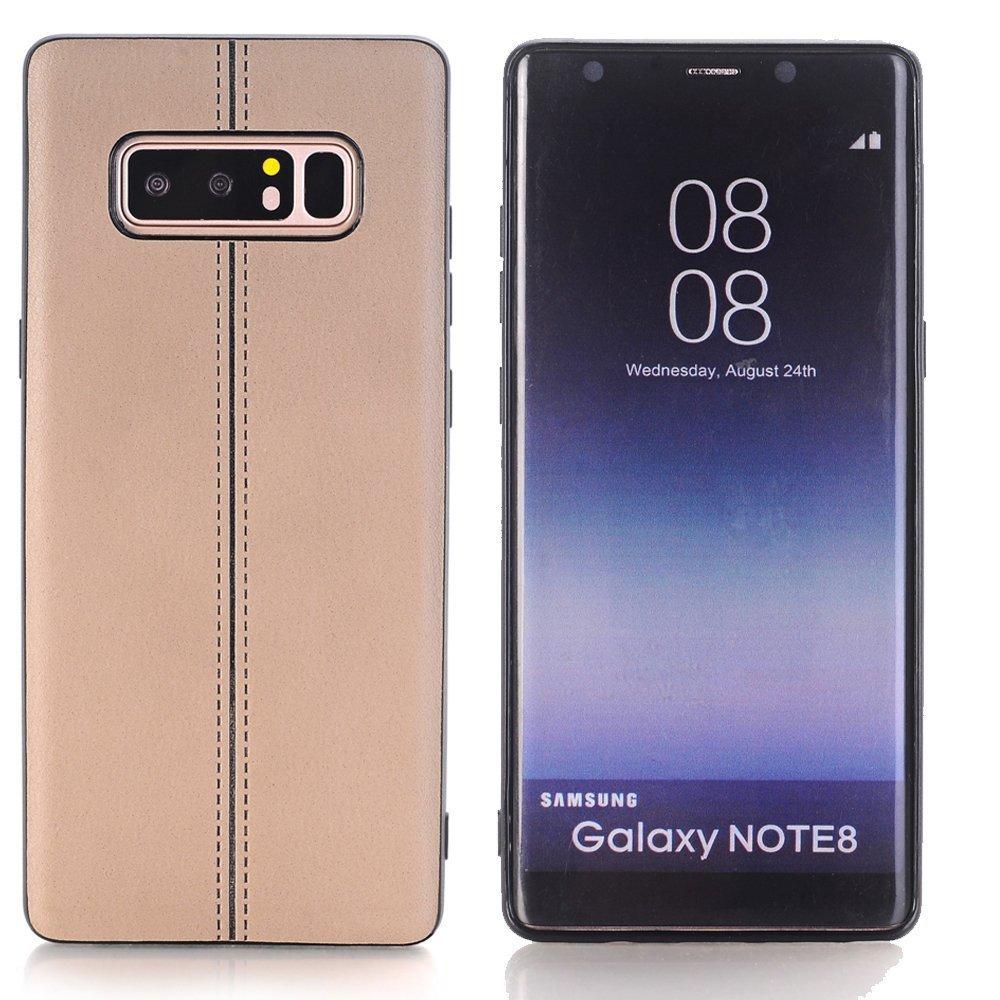 Boens Case for Samsung Galaxy S8, Galaxy S8 cover, Premium PU Leather Luxury Slim Retro Ultra Thin Shockproof Case