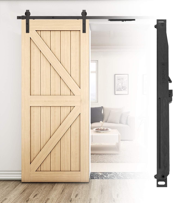 Juego de rieles para puerta corredera de 2 m y pestillo de bloqueo ...
