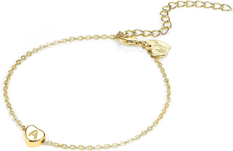 Fettero Gold Initial Heart...