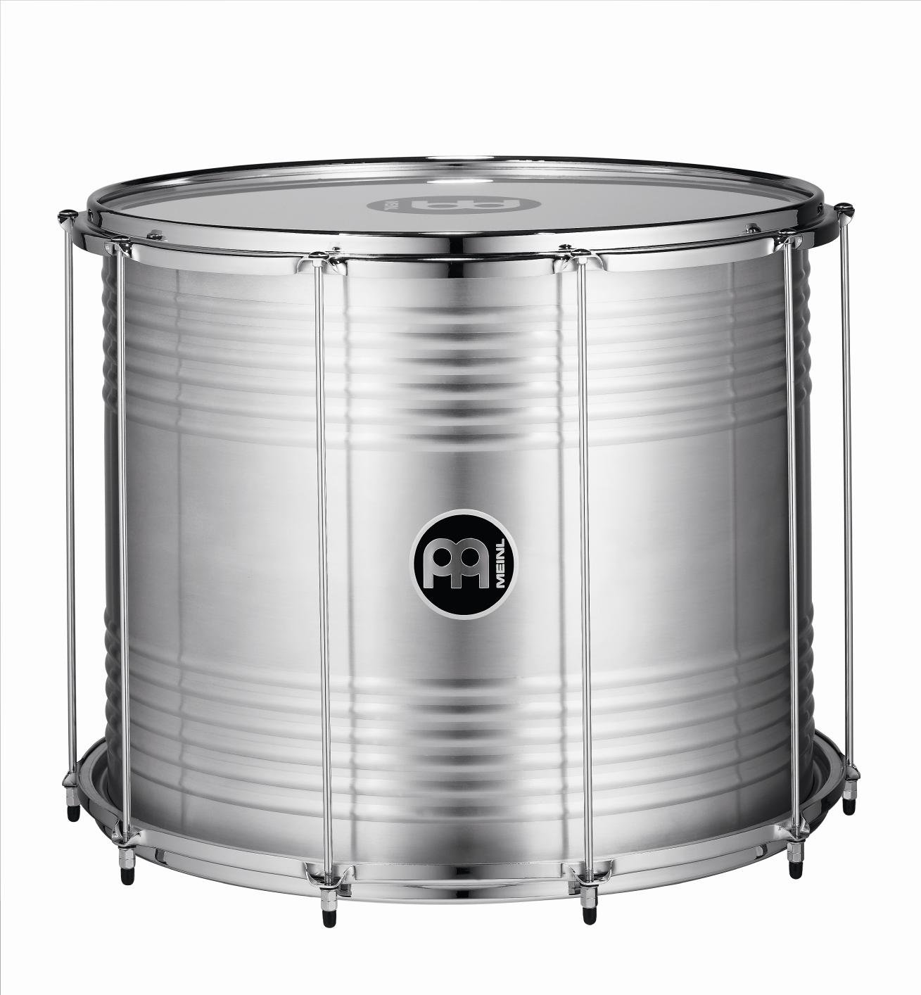 Meinl Percussion 20'' Bahia Surdo with Aluminum Shell - NOT MADE IN CHINA - Equipped with Napa and Synthetic Heads, 2-YEAR WARRANTY (SUB20) by Meinl Percussion (Image #1)