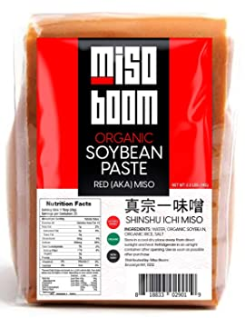 MISO BOOM Organic & Rich flavor 35.5 oz Red Miso Paste