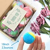 24 Organic & Natural Bath Bombs, Handmade Bubble