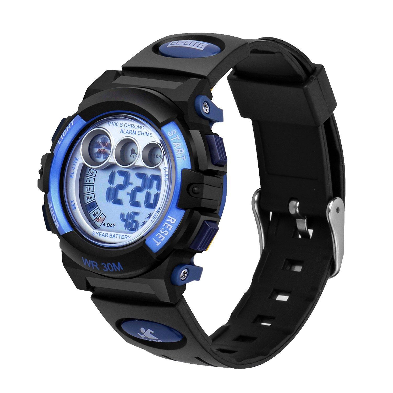AZLAND Boys Girls Watches Digital Sports Watch Features ...