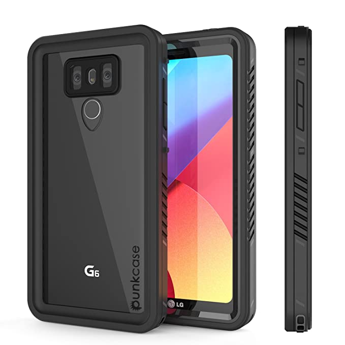 buy popular d32a5 a46a4 Amazon.com: LG G6 Waterproof Case, Punkcase [Extreme Series] [Slim ...