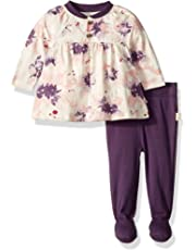 1115516ddb1 Burt s Bees Baby - Baby Girls Top and Pant Set