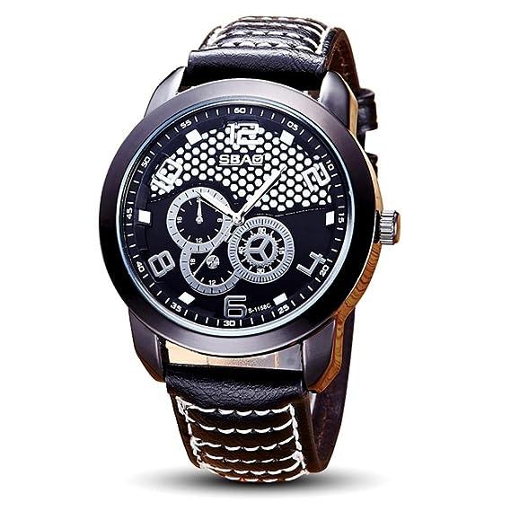 Hombres reloj, ikevan SBAO impermeable reloj de pulsera Hombres Top marca Luxury famoso macho reloj