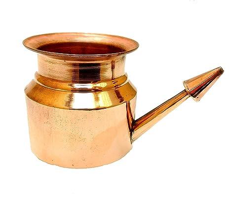 Neti Pots & Cleansers Natural & Alternative Remedies Neti Pot Copper For Sinus Irrigation