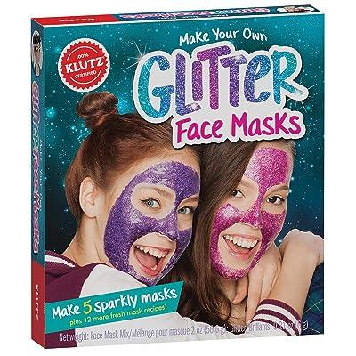 Klutz Make Your Own Glitter Face Masks: Toys & Games