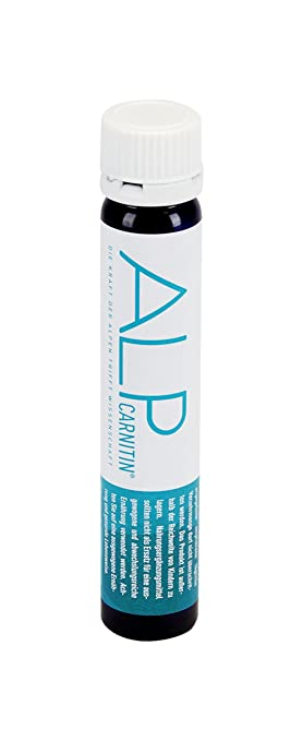 ALP CARNITIN l carnitina vitaminas C E 14x25 ml apoya quemegrasas dieta y metabolismo energético body fitness: Amazon.es: Salud y cuidado personal