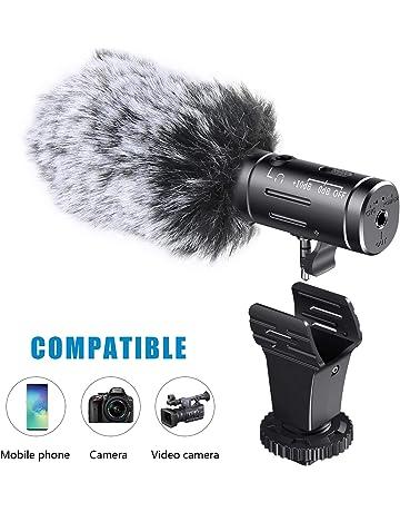 Micrófonos externos para videocámaras | Amazon.es
