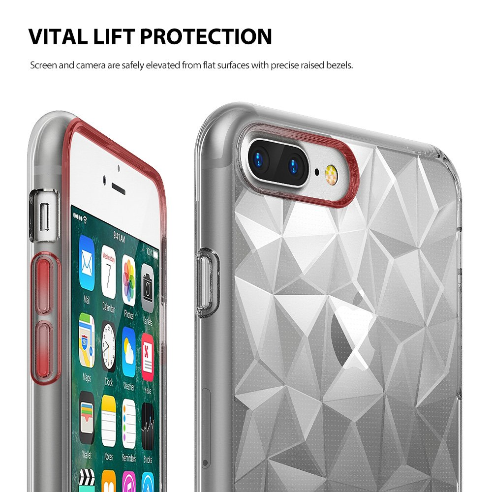 Ori Rearth Ringke Air Prism 3d Case Iphone 7 Plus 11street Smoke Black Malaysia Cases And Covers