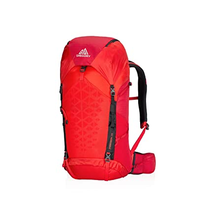 da6e030c6ee Gregory Mountain Products Paragon 38 Liter Men s Backpack, Citrus Red,  Small Medium