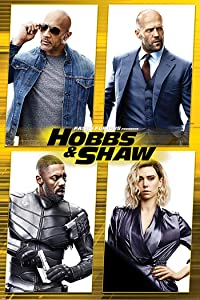 Fast & Furious: Hobbs & Shaw - Movie Poster (Characters Grid) (Size: 24 x 36 inches)