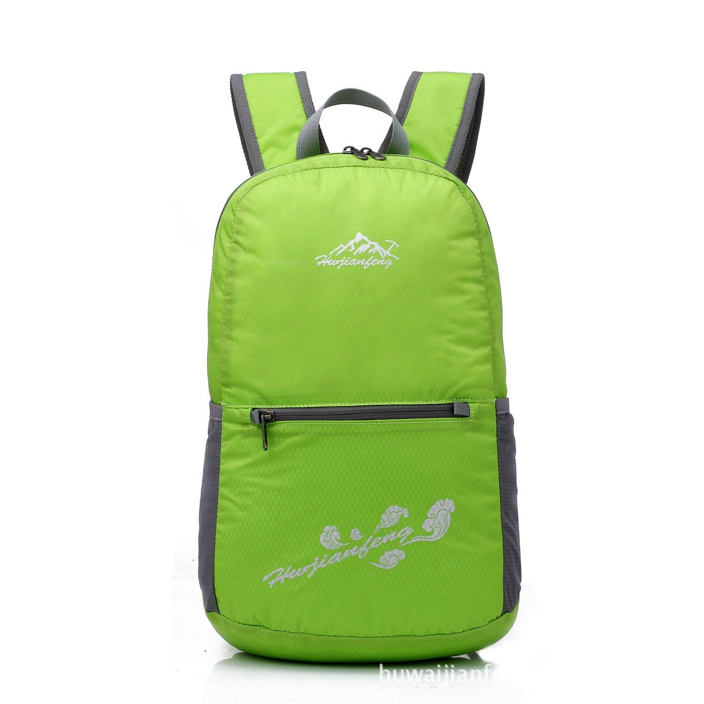 Huwai Leichte Wasserabweisende Falten Hauttasche im Freien Sporttasche