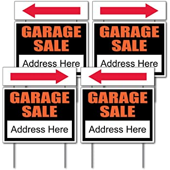 Amazon Com Yard Sale Sign Kit With Pricing Labels And