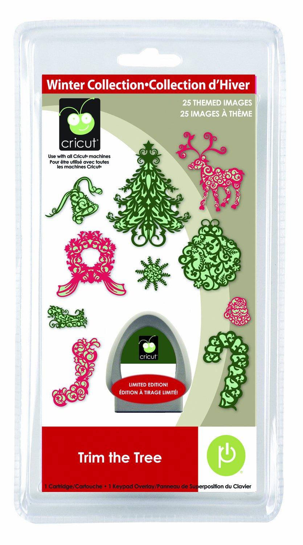 Provo Craft /& Novelty Cricut Seasonal Cartridge Trim The Tree