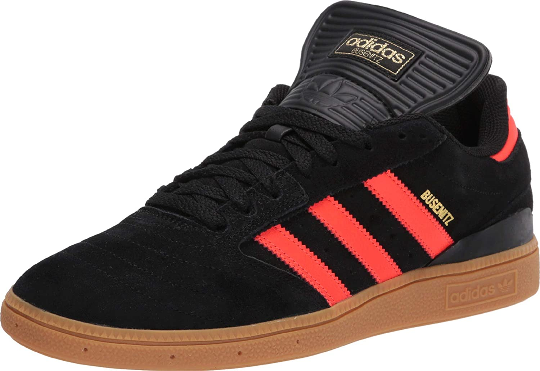 adidas Skateboarding Busenitz Core Black/Solar Red/Gum 1