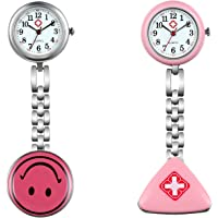 Lancardo Reloj de Bolsillo con Colgante con Diferentes