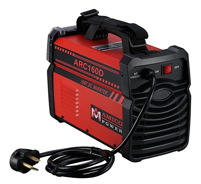 Amico ARC-160D 160 Amp Stick Arc DC Welder 110/230V Dual Input Voltage Welding - - Amazon.com