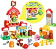 LeapFrog LeapBuilders Food Fun Family Farm Toy
