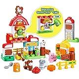 LeapFrog LeapBuilders Food Fun Family Farm, Multicolor