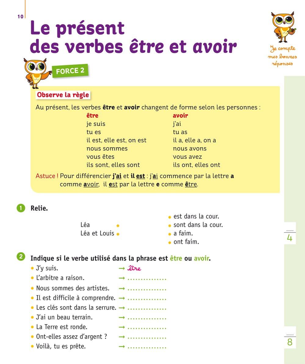 Amazon Collection Chouette Francais Mini Chouette Mieux Comprendre La Conjugaison Study Guides