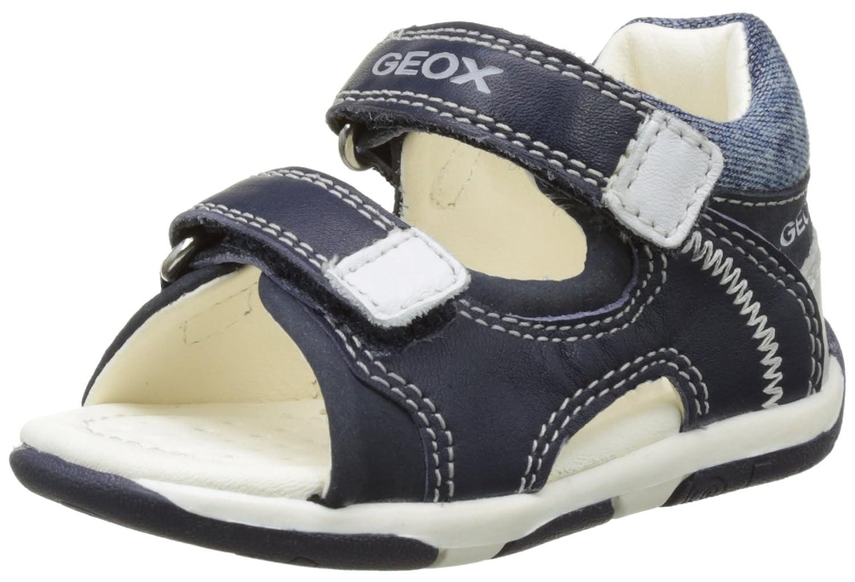 Geox B Sandal Tapuz Boy A, Botines de Senderismo para Bebé s Botines de Senderismo para Bebés Azul (NAVY/WHITEC4211) 19 EU B Sandal Tapuz Boy 2 - K