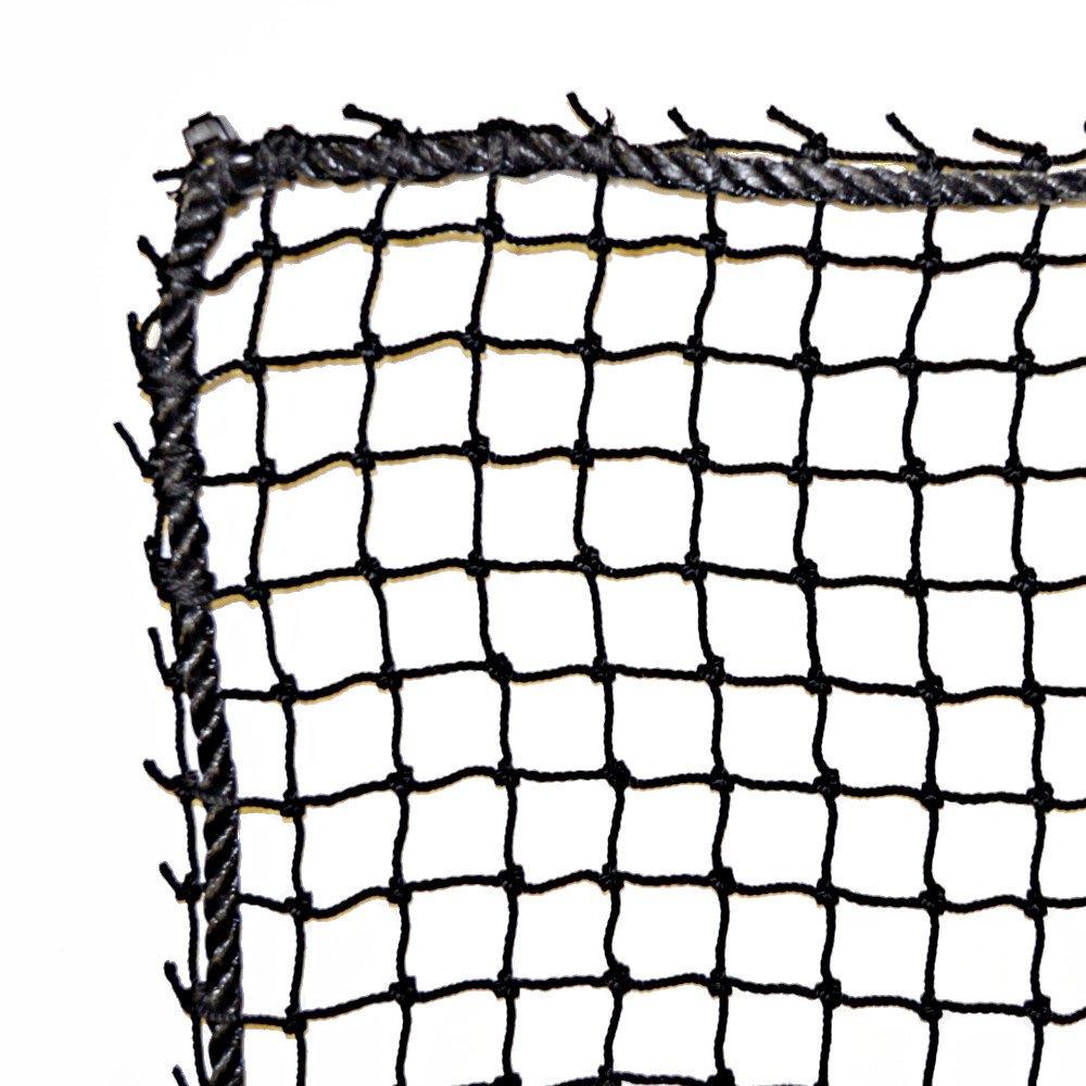 Just For Nets JFN Nylon Golf High Impact Net, 10' x 10', Black