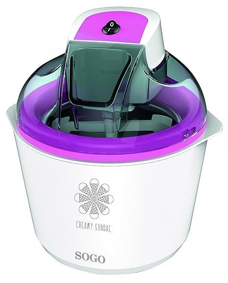 Sogo SS-10715 - Maquina de helados