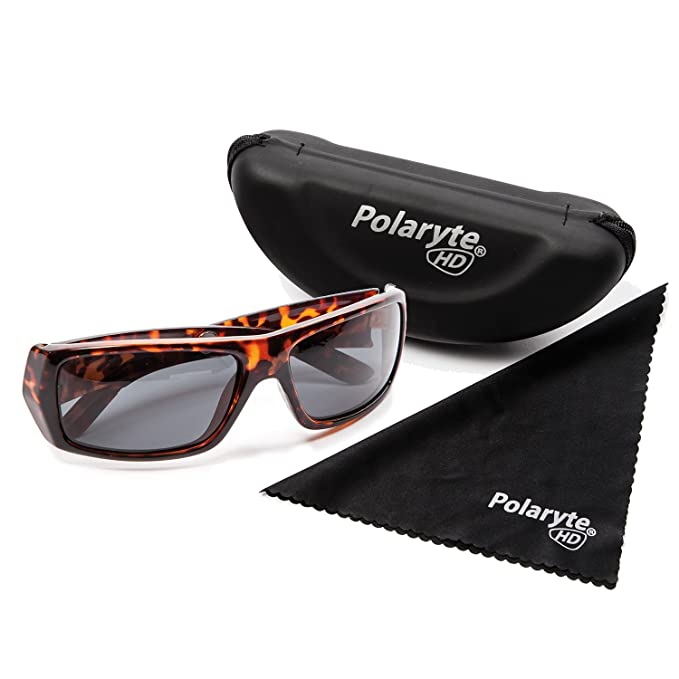 88519dbc6e7a Polaryte HD - High-Definition Vision UV400 (UVA + UVB) Polarised Sunglasses,  brown: Amazon.co.uk: Sports & Outdoors