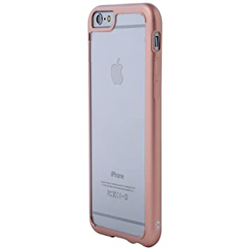 Ultratec Funda Protectora híbrida para Smartphone/Carcasa con Borde de TPU de Color para iPhone 6 y 6s/iPhone 6 Plus y 6s Plus, con Funda con ...