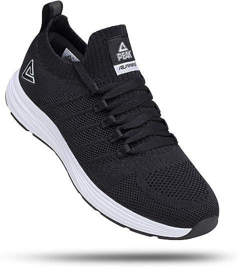 Peak - Zapatillas de running para hombre, ligeras, cómodas, sin cordones, para tenis, caminar, gimnasio, entrenamiento casual: Amazon.es: Zapatos y complementos