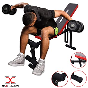 Flat Weight Bench Adjustable Incline/&Decline Ab Training Board Fitness Exercise