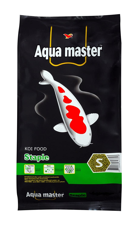 Aqua Master Staple Fish food, 5 kilogram bag, Small by