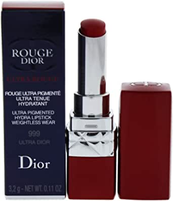 Christian Dior Rouge Dior Ultra Rouge Lipstick, 999 Ultra Dior, 3.2 g