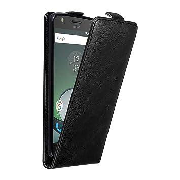 Cadorabo Funda para Motorola Moto Z Play in Negro Antracita ...