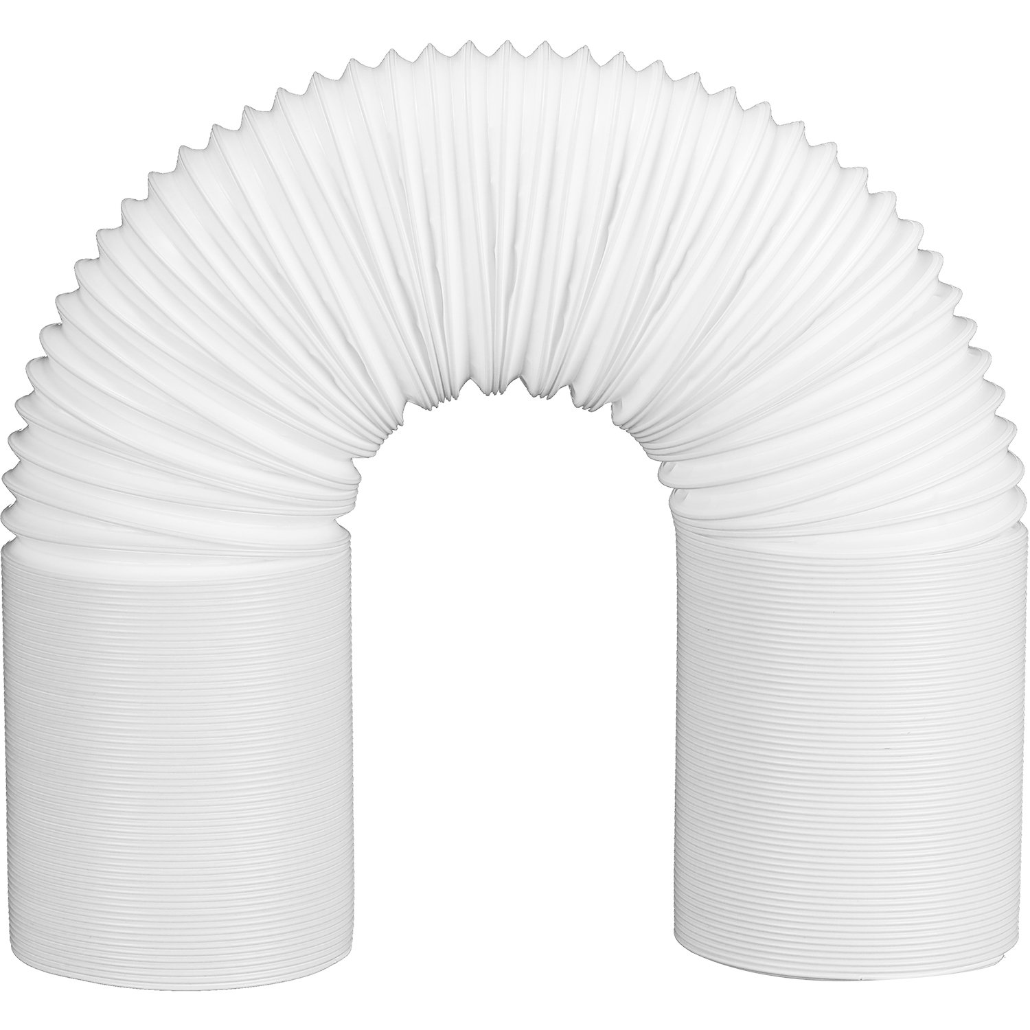 Skylety Portable Air Conditioner Exhaust Hose White, 5 Inch Diameter Universal (78.74 Inch Length)