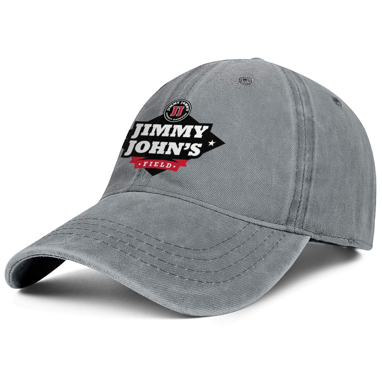 WintyHC Jimmy Johns Cowboy Hat Trucker Hat One Size Baseball Cap