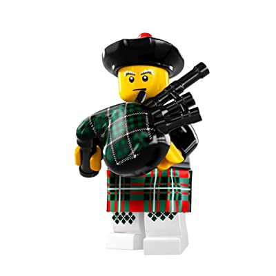 LEGO 8831 Minifigures Series 7 - Bagpiper - Rare Collection Modell x1 Loose: Toys & Games