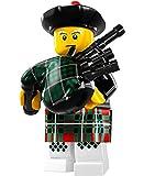 LEGO 8831 Minifigures Series 7 - Bagpiper - Rare Collection Modell x1 Loose