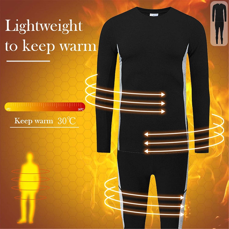visionreast Mens Ultra Soft Thermal Underwear Set Warm Base Layers Long Johns Set Skiing Winter