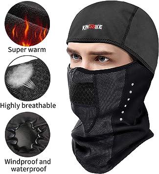 Winter Windproof Waterproof Face Mask Balaclava Ski Mask Cold Weather Gear