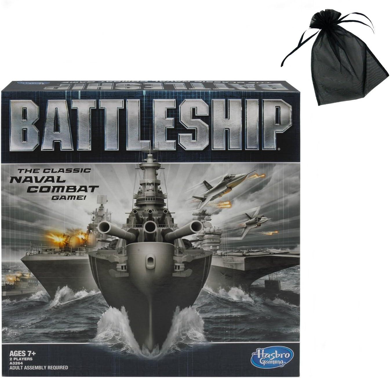 Battleship Game classic board hasbro naval combat multi player strategy new gift